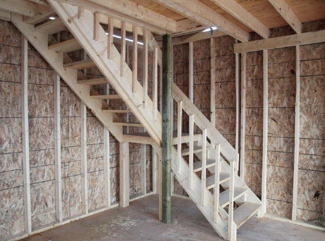 escalier de garage
