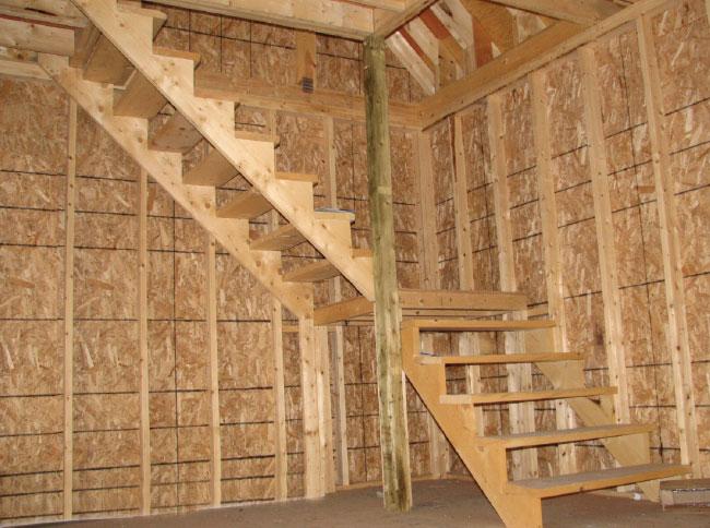 escalier mansarde de garage