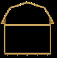 Ferme de toit grange modulaire