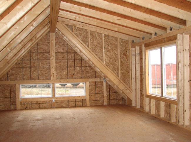 Garages site de cabanons modernes Toit mansarde bardage bois