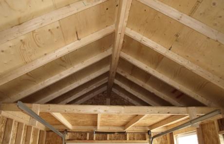 Espace intérieur : toitures