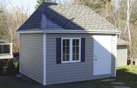 garage 4 versants - vinyle prestige beige