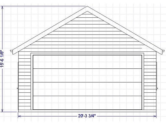 plans de garage. Black Bedroom Furniture Sets. Home Design Ideas