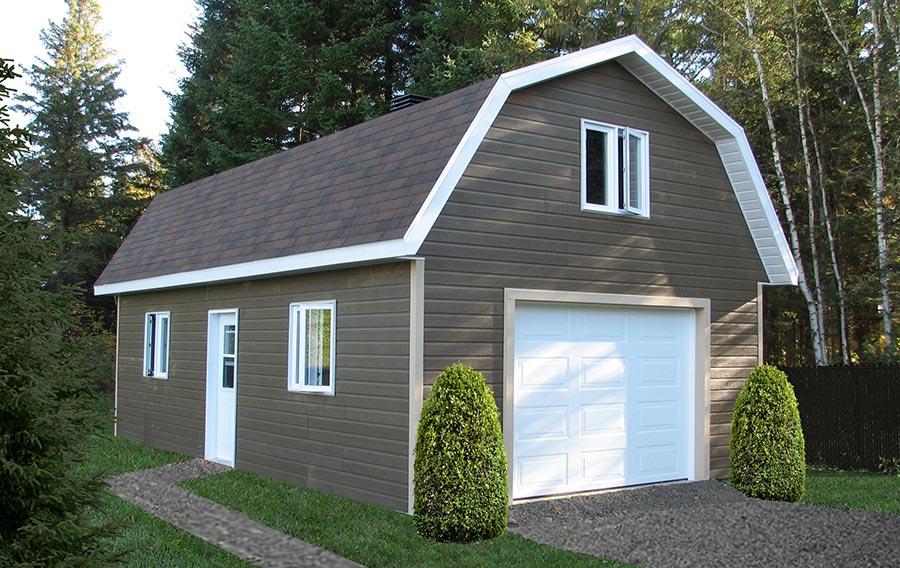 Garages site de cabanons modernes for Cabanon en bois habitable