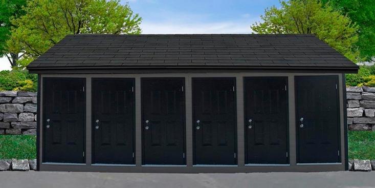 Multi-portes – Canexel gris granite